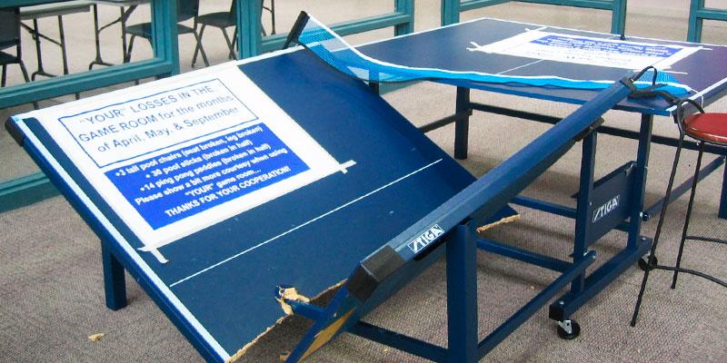 mesa ping pong rota