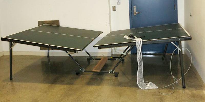 mesa ping pong averiada