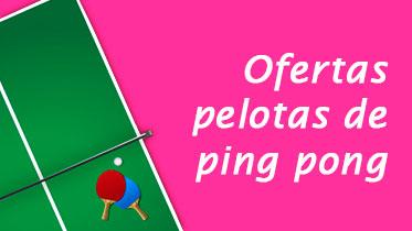 Ofertas pelotas de ping pong