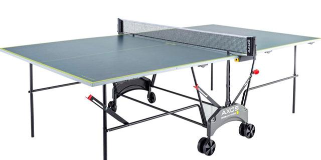 mesa de ping pong para el jardín
