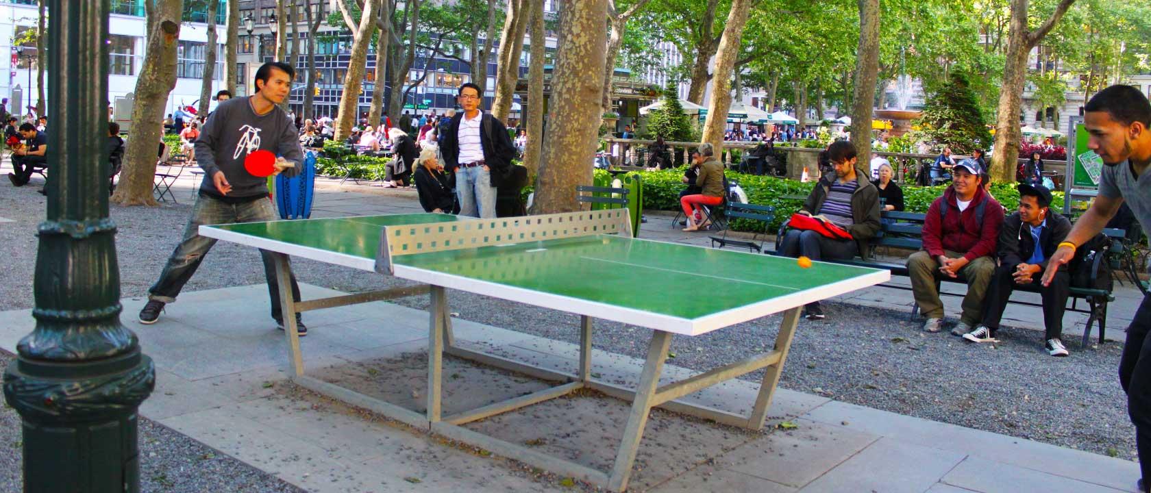 Mesas de ping pong antivand licas para espacios sin for Mesa ping pong carrefour