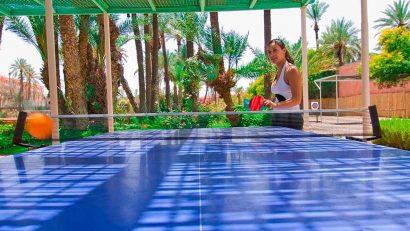 cudados de las mesas de ping pong de exterior