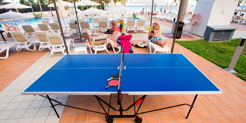 C mo elegir una mesa de ping pong para hoteles ofertas for Dimensiones mesa ping pong